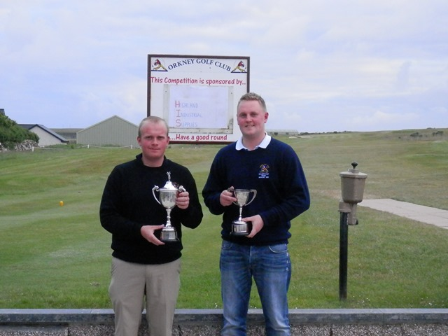 2014 Club Championship Gross Winner S Rendall & Nett Winner G Flett