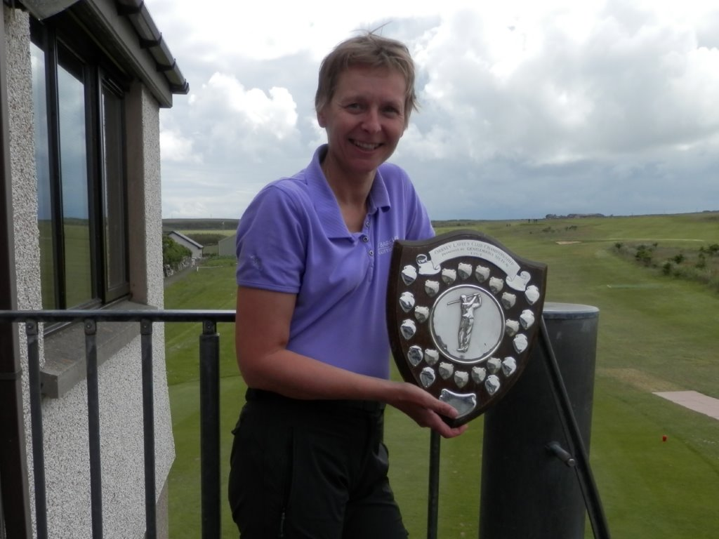 2014 Club Championship Gross Winner Shona Croy