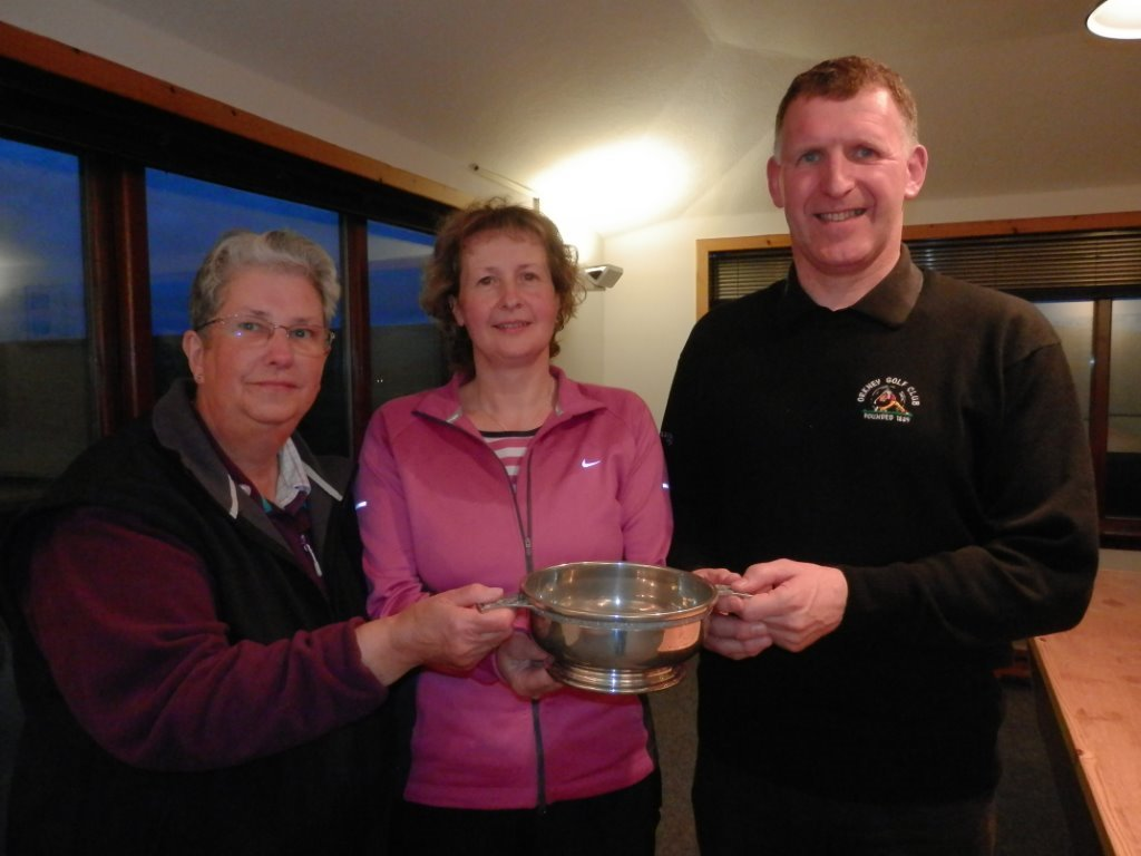2014 Mixed Foursomes Open Winners E Drever & G Farquhar