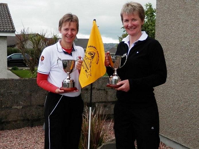 2014 Orkney Matchplay Gross Winner Shona Croy & Nett Winner Shona Slater