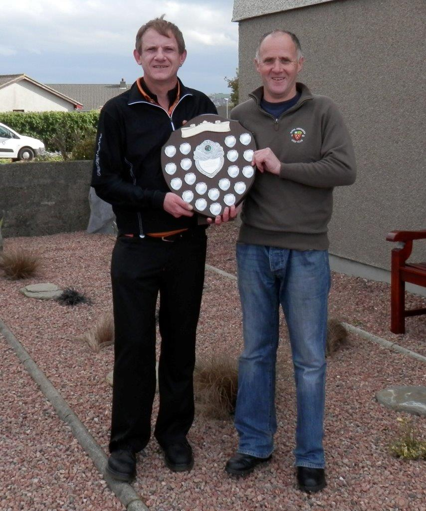 2014 Robertson Shield winners - Hugh Clyde & Peter McKinlay