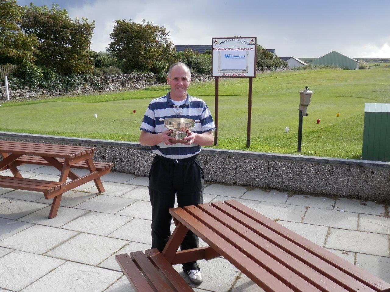 2014 Williamsons RBS Quaich winner - Peter McKinlay