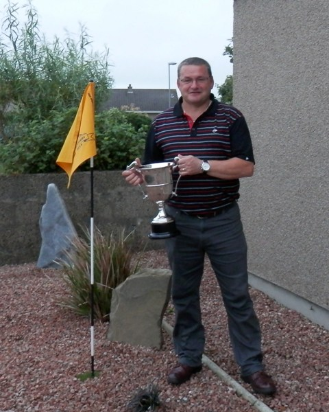 2014 Winner of the McVitie & Price Cup Brian Firth