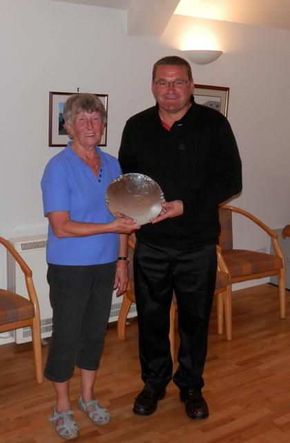 2014 Winners of the Mackay Memorial Trophy - Marlene Croy & Brian Firth