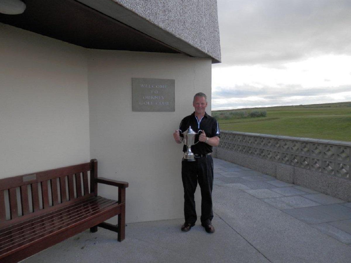 Centenary Cup winner 2015 - Ewan Donaldson