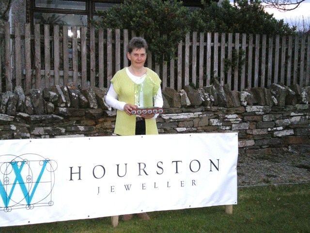 Hourstons Open 2013 Winner Linda Bonner