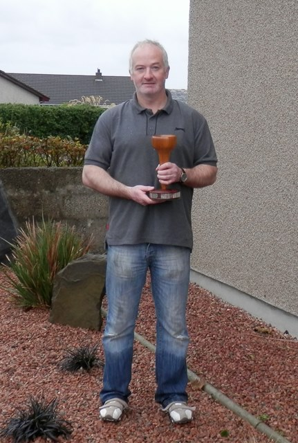 SMuF Tee (Crazy Golf) winner 2014 -- David Kirkpatrick